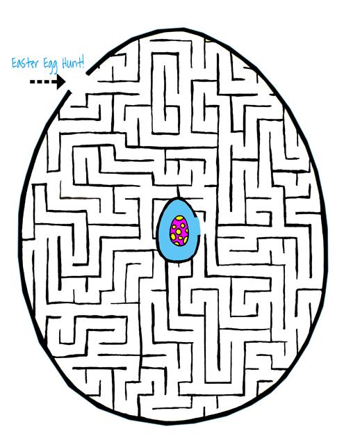 Easter Egg HUNT Fun Easter Maze for kids